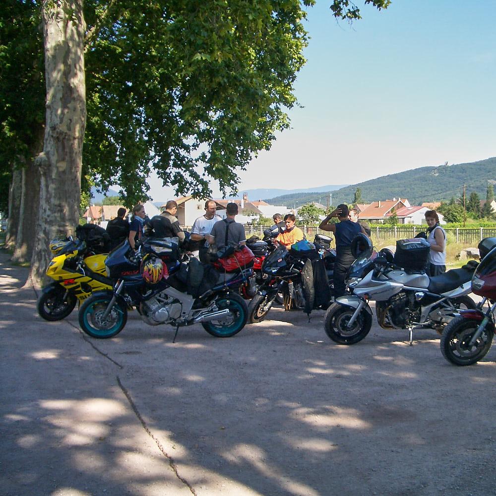 Motorradausfahrt Vorschau