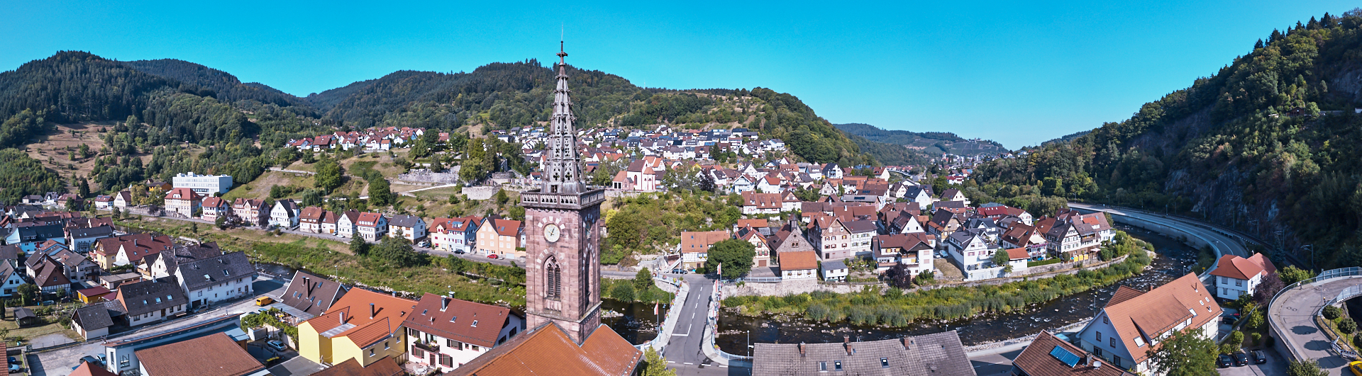 Weisenbach Luftaufnahme